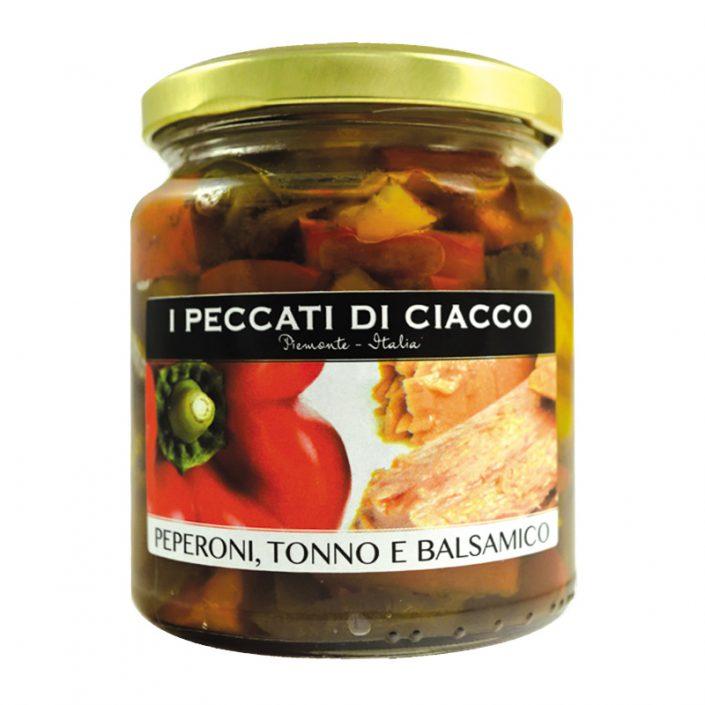 ANTIPASTO CON PEPERONI, TONNO E BALSAMICO • Pepper, Tuna & Balsamic Vinegard Appetizer