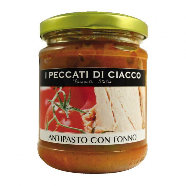 ANTIPASTO CON TONNO • Tuna, Vegetable & Tomato Appetizer