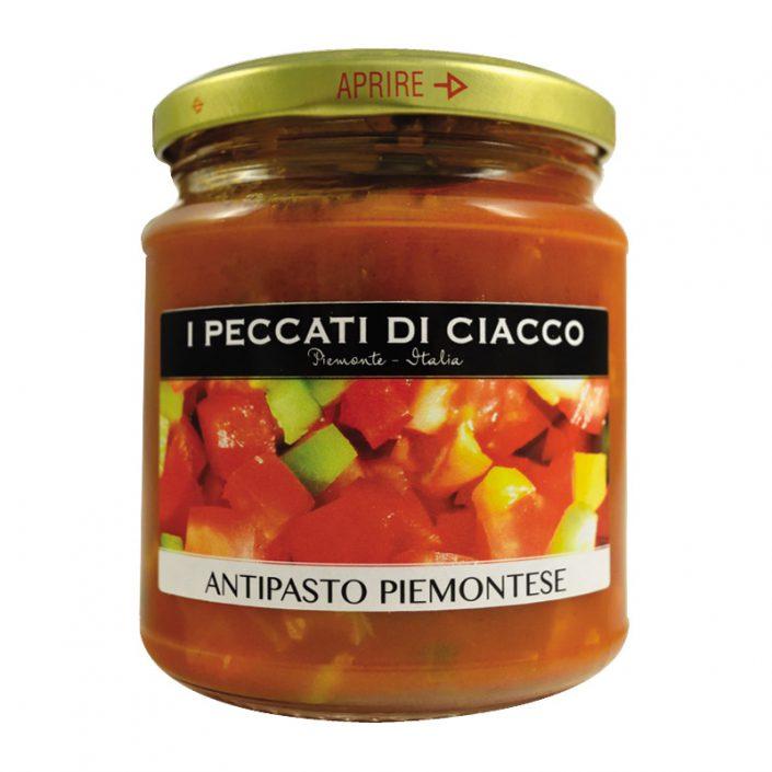 ANTIPASTO PIEMONTESE • Vegetable & Tomato Appetizer