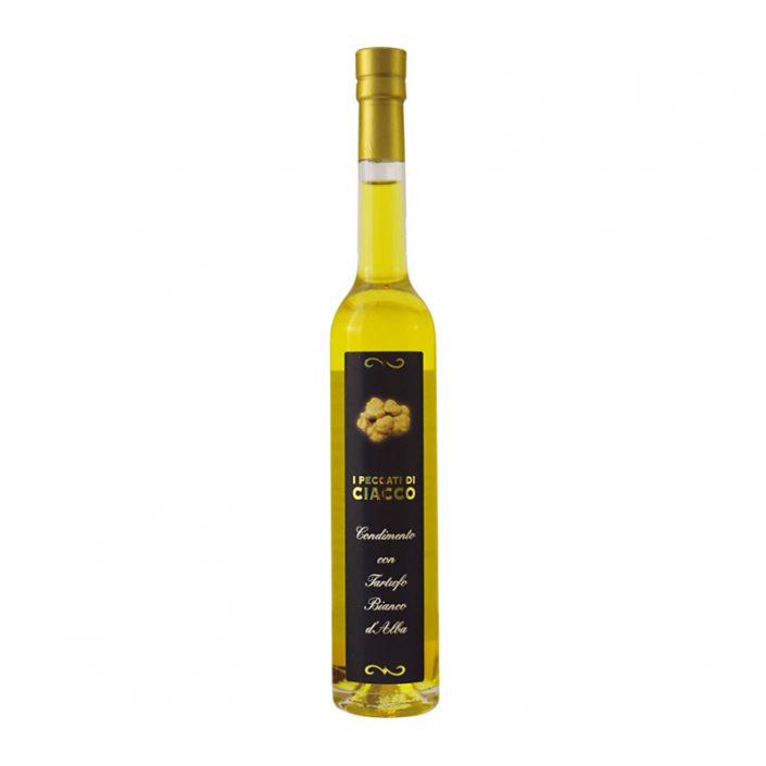 CONDIMENTO AL TARTUFO BIANCO • White Truffle Extravirgin Olive Oil (Tuber Magnatum Pico)