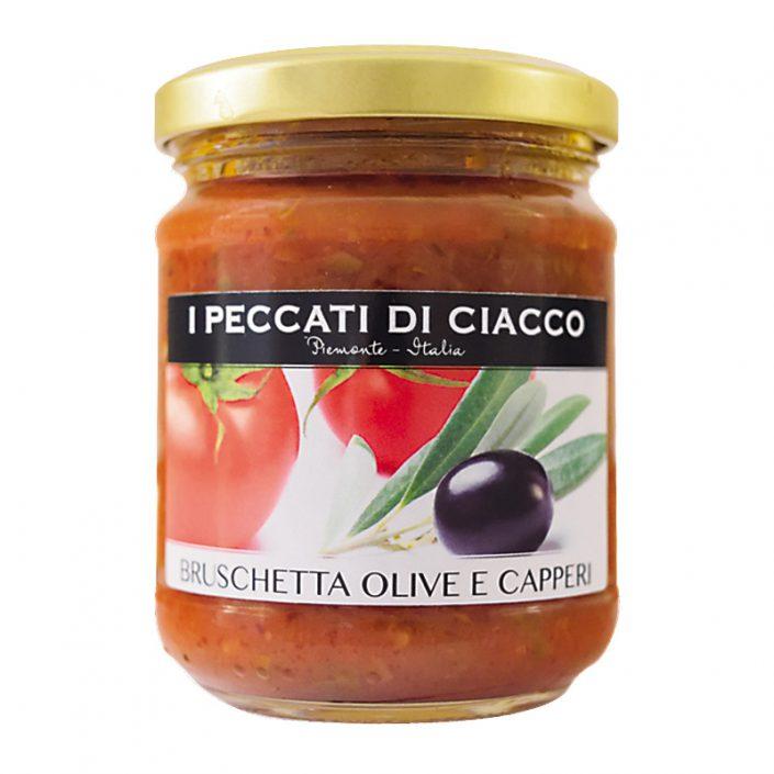 BRUSCHETTA OLIVE E CAPPERI • Olive & Caper Bruschetta