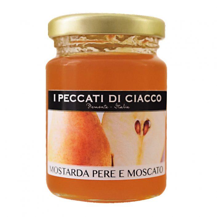 MOSTARDA DI PERE E MOSCATO • Pear & Moscato Wine Mustard