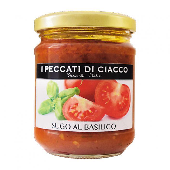 SUGO AL BASILICO • Basil & Tomato Sauce