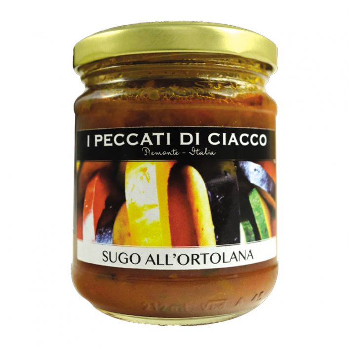 SUGO ALL'ORTOLANA • Vegetarian Tomato Sauce