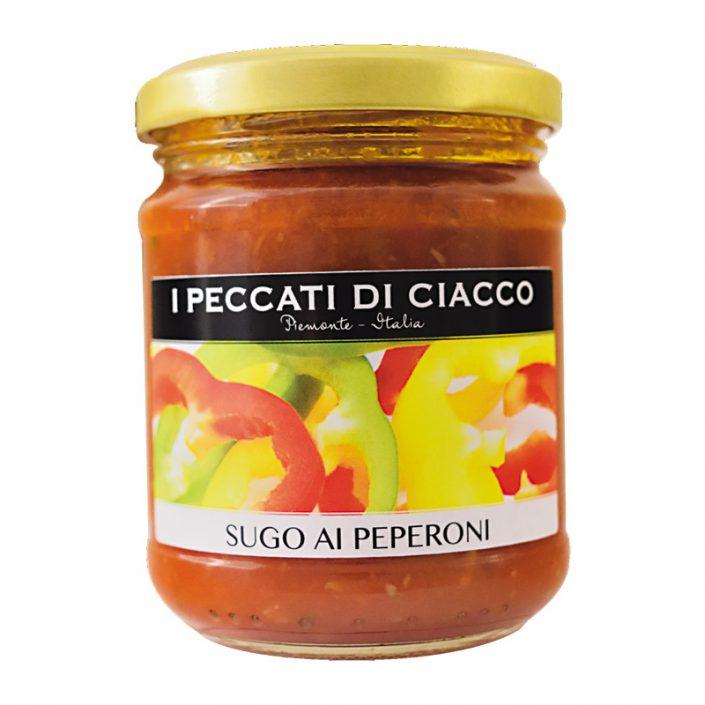 SUGO AI PEPERONI • Pepper & Tomato Sauce