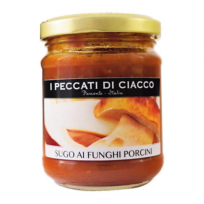SUGO AI FUNGHI PORCINI • Porcini Mushroom & Tomato Sauce