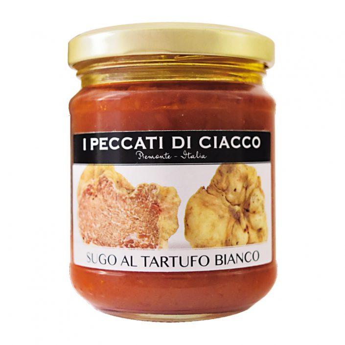 SUGO AL TARTUFO BIANCO • White Truffle & Tomato Sauce
