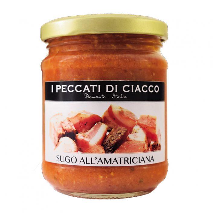 SUGO ALL'AMATRICIANA • Bacon & Tomato Sauce