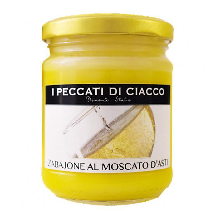 ZABAJONE AL MOSCATO D'ASTI DOCG • DOCG Moscato d'Asti Custard