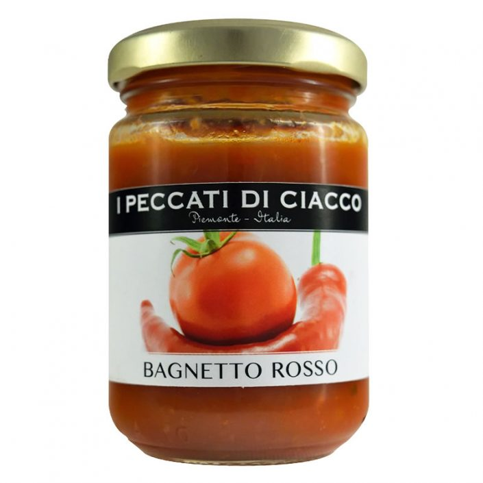 BAGNETTO ROSSO • Tomato, Hot Pepper & Herb Sauce