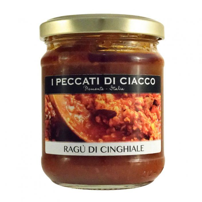 RAGU' DI CINGHIALE • Wild Boar Ragù