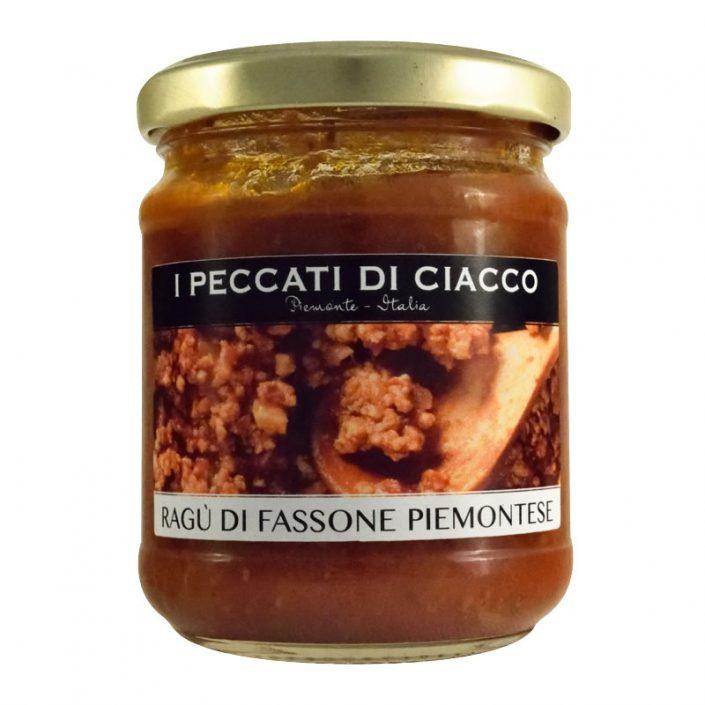 RAGU' DI FASSONEPIEMONTESE • Piedmontese Beef Ragù